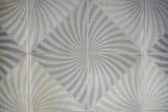 Closeup till yttersida av Maze Floor Tile Background Royaltyfri Fotografi