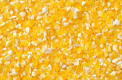 Closeup of tinned whole kernel corn, Stock Photography