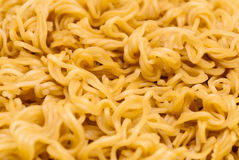 Closeup to Asian Instant Noodle Background/ Texture.  Royalty Free Stock Image
