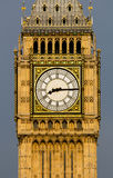 Closeup to the Big Ben Clock Royalty Free Stock Photography