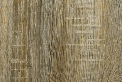 Closeup to Brown Vertical Wood Background/ Texture Royalty Free Stock Photo