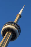 Closeup to the CN Tower Stock Image