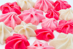 Closeup to Group of Colorful Allure Dessert Royalty Free Stock Images