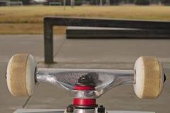 Closeup to skateboard truck Stock Photo