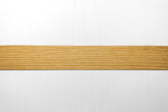 Closeup to White and Brown Wood Background.  Stock Photos