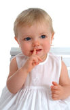 Closeup  of Toddler Royalty Free Stock Images