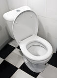 Closeup of toilet Royalty Free Stock Images