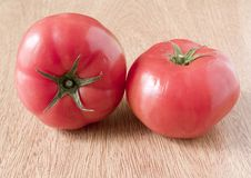 Closeup tomatoe Royalty Free Stock Photo
