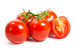 Closeup of tomatoes Stock Photography