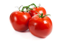 Closeup of tomatoes Royalty Free Stock Images