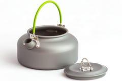 Closeup touristic teapot Stock Image