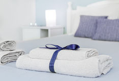 Closeup of towels Stock Image