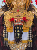 Closeup of traditional Balinese Barong mask in Indonesia Royalty Free Stock Photos