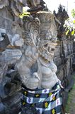 Closeup of traditional Balinese God statue Stock Photography