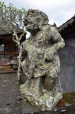 Closeup of traditional Balinese God statue Royalty Free Stock Images