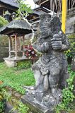 Closeup of traditional Balinese God statue Stock Photo