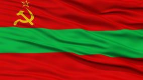 Closeup Transnistria Flag Royalty Free Stock Photo