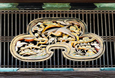 Closeup of transom window, Ninomaru-goten Palace, Nijo Castle, K Royalty Free Stock Image