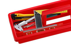 Closeup of  tray with tools Stock Photography