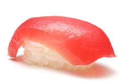 Closeup of a tuna sushi Royalty Free Stock Image