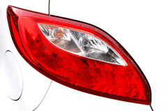 Closeup turn signal lamp Stock Image