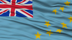 Closeup Tuvalu Flag Stock Images