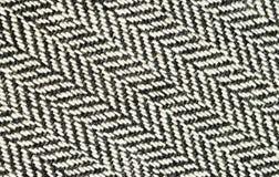 Closeup of tweed fabric Stock Photos