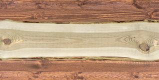 Broad rustic wood background with copy space for further processing royalty free stock photography