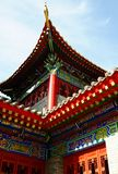 Closeup of a typical traditional Chinese building Royalty Free Stock Image
