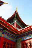 Closeup of a typical traditional Chinese building Stock Images