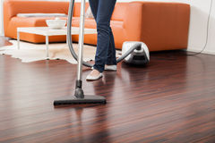 Closeup of a Vacuum Cleaner stock images