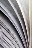 Closeup view of a book Royalty Free Stock Image