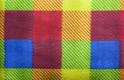 Colorful Blanket Texture Stock Photo