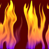 CLoseup view of flame Stock Images