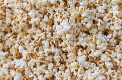 Closeup View of Fresh, Fluffy Popcorn Stock Photos