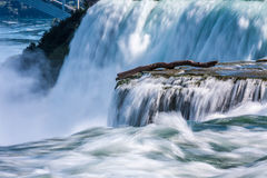 Closeup View of Niagara Falls Stock Photography