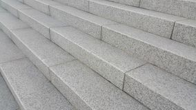 Free Closeup View Of Grey Concrete Stairs With Dark Concrete Lines On Footsteps Stock Photos - 136472193