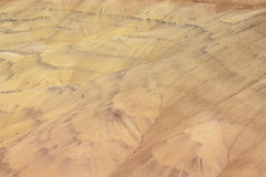 Closeup view of Painted Hills from above Stock Photos