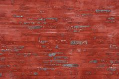 A wall. A closeup view of red brick wall Royalty Free Stock Images