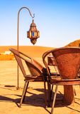 Traditional berber nomad hostel in the desert Morocco. Closeup view on Traditional berber nomad hostel in the desert Morocco Stock Image