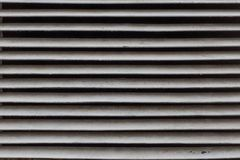 Closeup view of ventillation grille. Texture or a background stock images