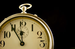 Closeup of Vintage Alarm Clock royalty free stock photos