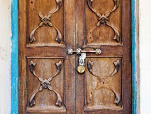 Closeup of a vintage door Stock Image