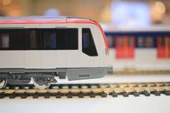 closeup of a vintage model train Royalty Free Stock Photos