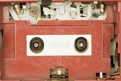 Closeup vintage radio cassette player Stock Photography