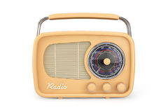 Closeup Vintage Radio Stock Photography