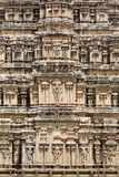 Closeup Virupaksha Temple tower Royalty Free Stock Images