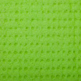 Closeup vivid green sponge background texture pattern Stock Photography