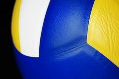 Closeup of Volleyball sports item stock photography