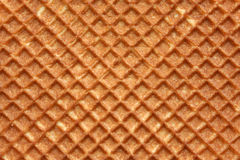 Closeup of wafer. Background texture stock image